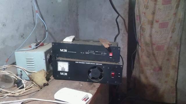 Robaron equipos de transmisión de una emisora de radio en ElSoberbio