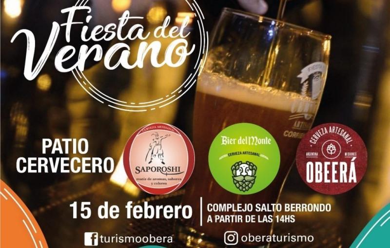 Mañana comienza la Fiesta del Verano, habrá patiocervecero