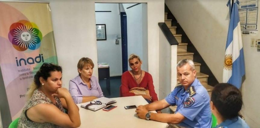 El INADI pidió el servicio penitenciario capacite al personal sobre identidad degénero