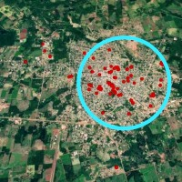 El Mapa del dengue: casi 200 casos de infectados en un día