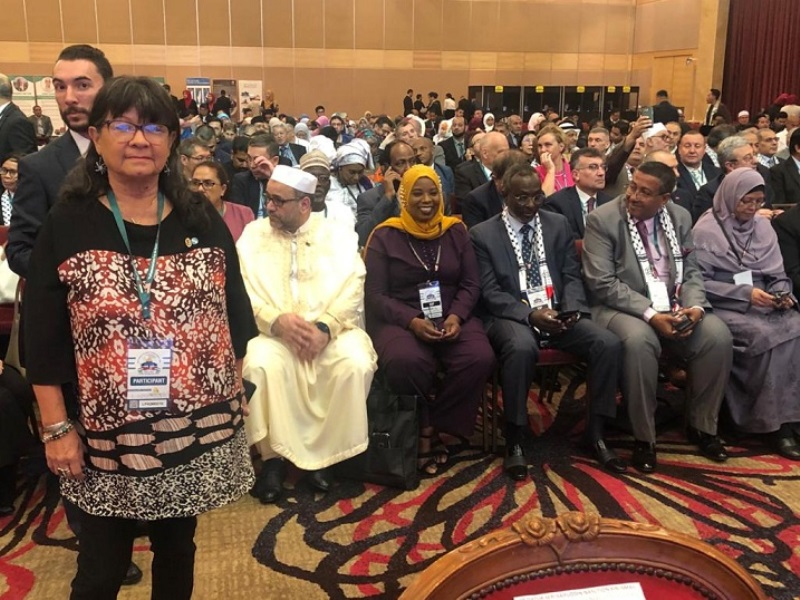 """La Parlamentaria Perié viajó a Malasia para hablar en contra de Israel: """"Nos duele Palestina, el Estado los oprime"""",dijo"""