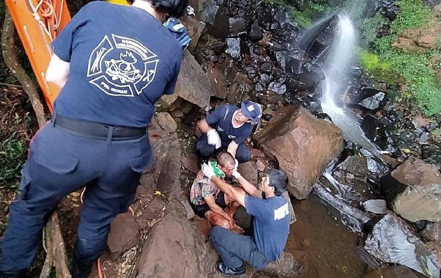 Falleció el turista bonaerense que había caído en el SaltoMariposa