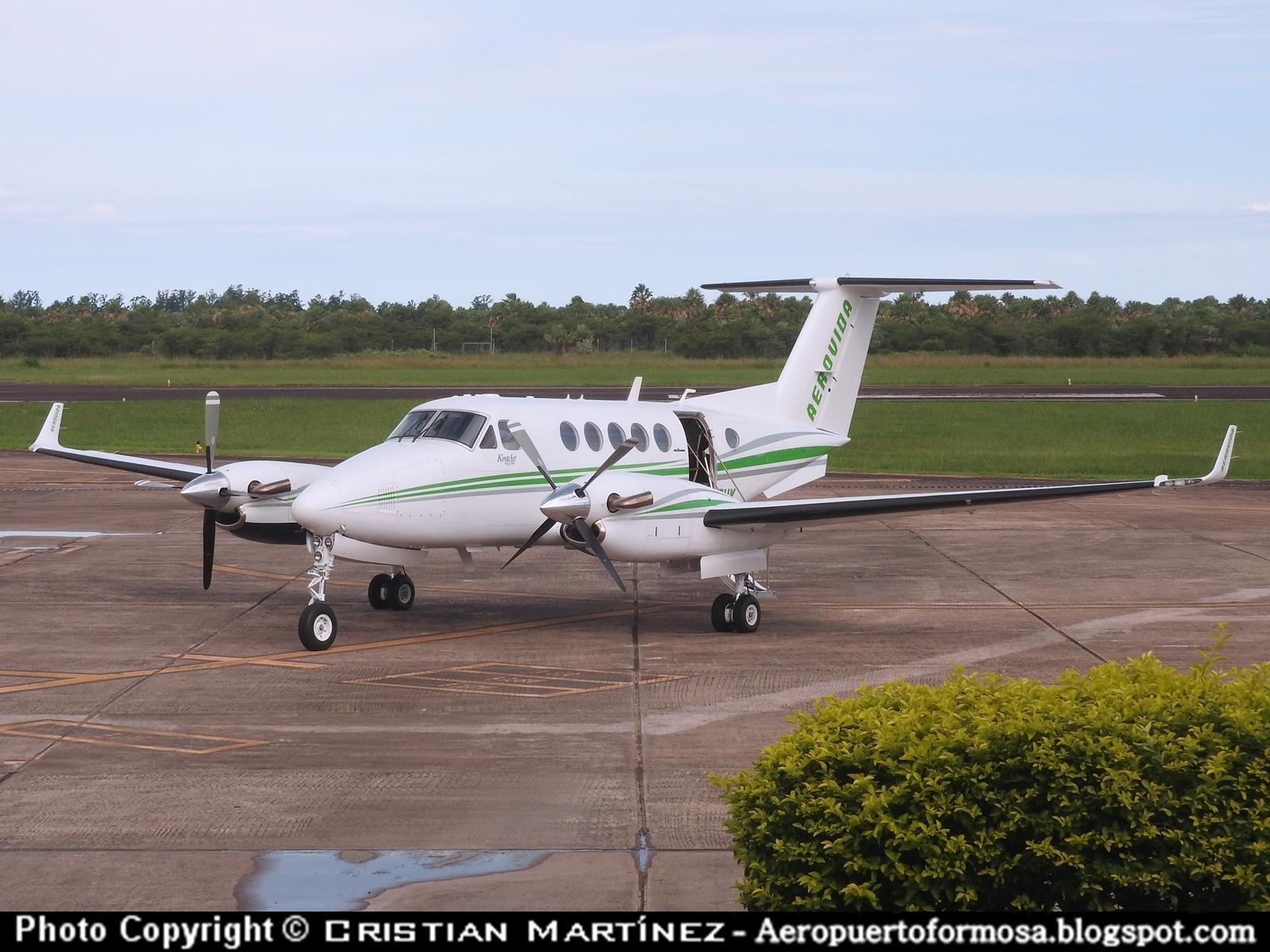 Aeropuerto Formosa - Formosa Spotters: LV-FUK Beechcraft B200 ...