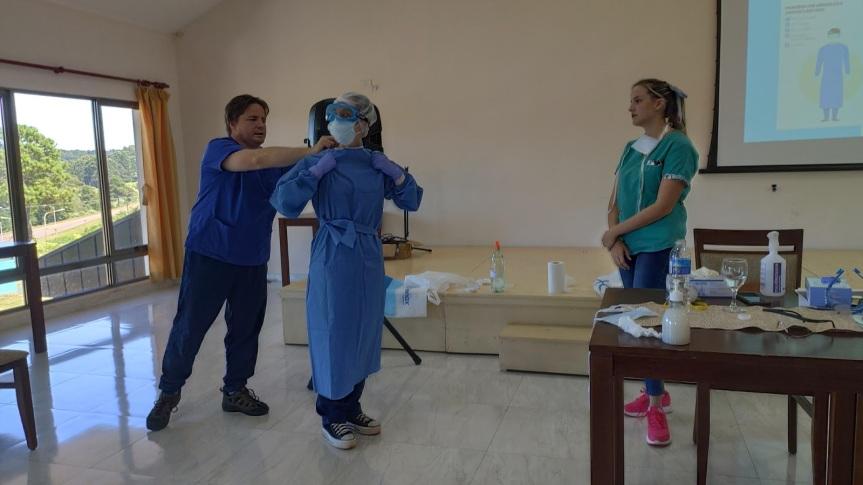 Por supuesta orden de Gobernación suspendieron capacitación sobre prevención del Coronavirus en Dos deMayo