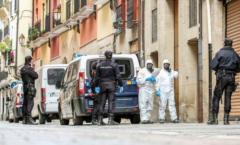 España reportó 849 muertos por coronavirus en un día y el total asciende a8200