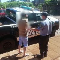 Detuvieron al sospechoso de incendiar la puerta de supermercado Gauze
