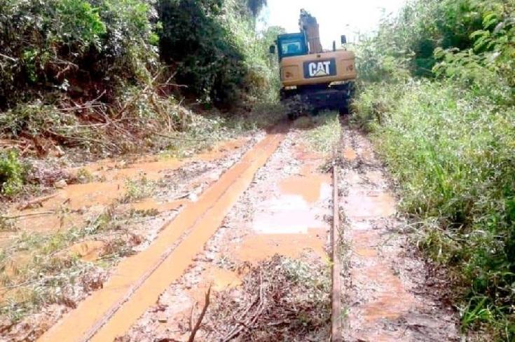 Iniciaron limpieza de vías para reactivar el tren en Misiones yCorrientes