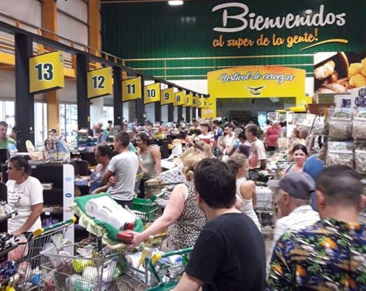 Por la inflación, las ventas en supermercados tuvieron una facturación 54,8% mayor respecto a mayo del2019