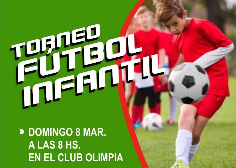 Torneo barrial de fútbol infantil se realizará eldomingo