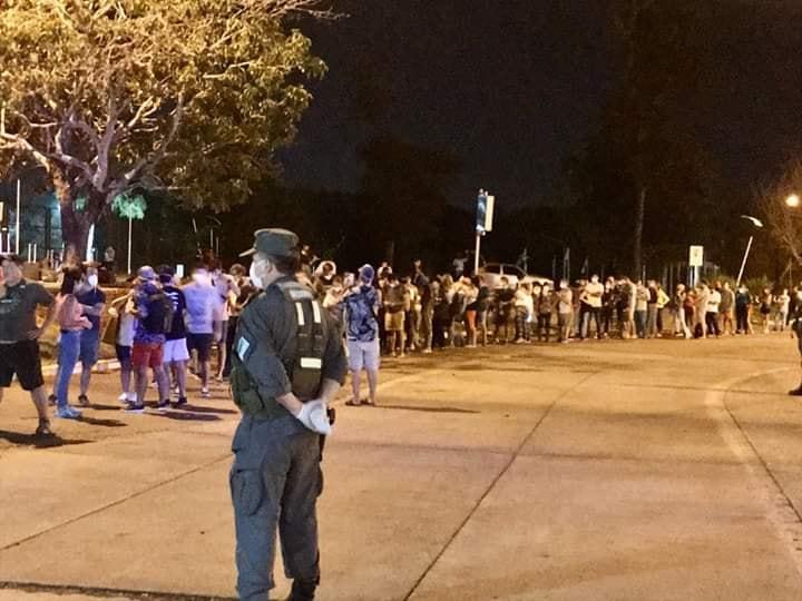 Cierre de la frontera: arribaron 100 personas más el viernes aIguazú