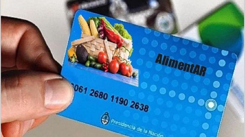 La tarjeta Alimentar se cargará de formasemanal