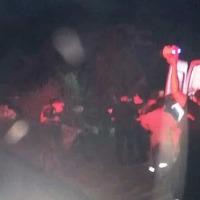 Camión con 7 tareferos volcó en un camino dejando a todos heridos