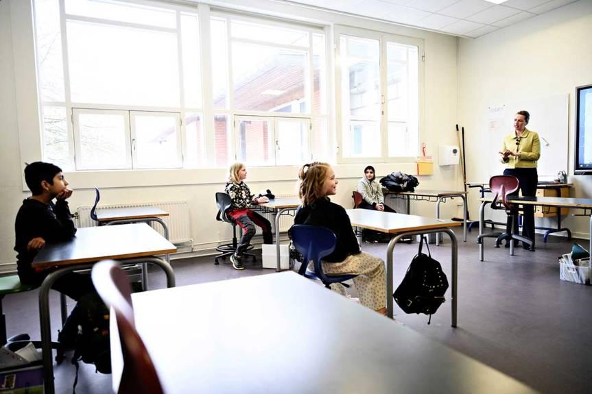Con 6876 casos de Coronavirus, reabrieron las escuelas enDinamarca