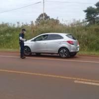 Cuatro conductores multados por circular en la ruta 14 sin justificación