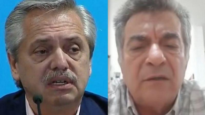 """Empresario le respondió a Fernández: """"miserables son los políticos y sindicalistas que se hacen millonarios"""""""