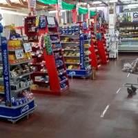 Góndolas uniformes: El gobierno prohibió exhibir productos en supermercados con estructuras colgantes