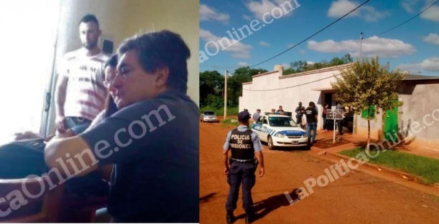 Lanziani fue encontrado en Oberá tras un allanamiento por difusión de noticias falsas y violación decuarentena