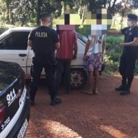 Padre e hijo violaron la cuarentena e intentaron escapar por avenida Gendarmería