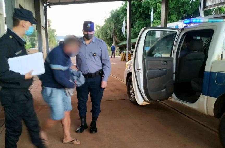 Camionero alcoholizado quiso cruzar la frontera y fuedetenido