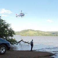 """Solicitaron patrullaje aéreo del río Uruguay: """"la bajante permite pasar caminando"""""""