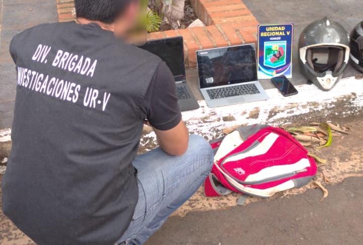 Robaron computadoras de un local y los ofrecían en redessociales