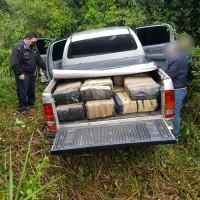 Hallaron abandonada una camioneta cargada con marihuana