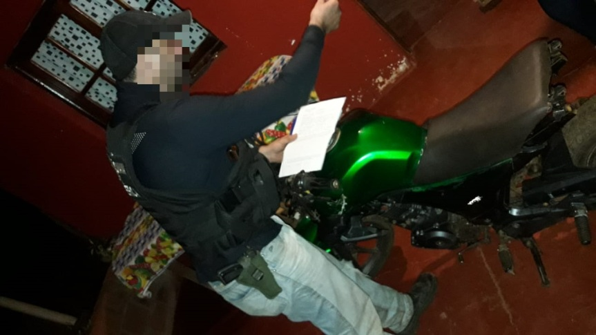 Tres motos robadas fueron recuperadas, una había sidovendida
