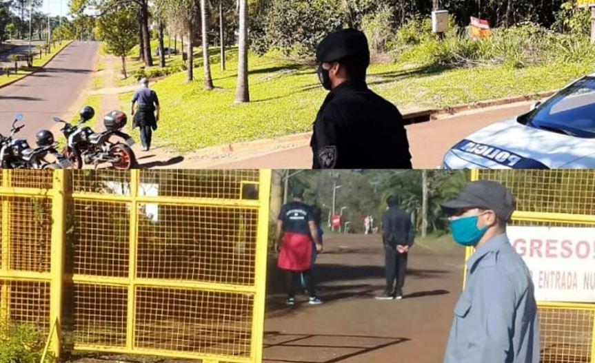 Más de 250 policías controlaron las caminatas recreativas en los distintosmunicipios