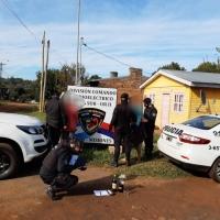 Asaltaron a un repartidor en Cien Hectáreas para robarle dos botellas de alcohol