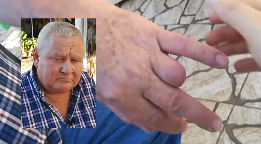 Tiene 64 años, está enfermo, perdió un dedo, lo humillan y le hacen trabajar durante lapandemia
