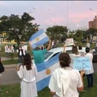 Capitanich multó a los médicos que protestaron el sábado