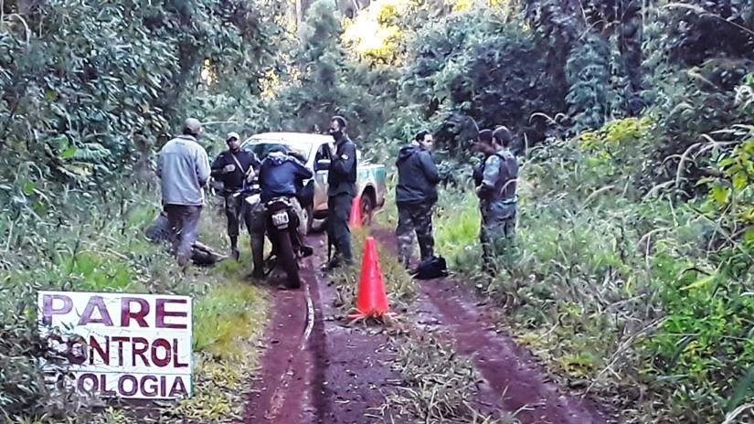 Concejal renovador y un sargento de Gendarmería detenidos por cazar en unareserva
