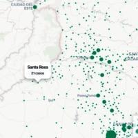 Los tres estados brasileños que limitan con Misiones suman 23.600 casos de Coronavirus