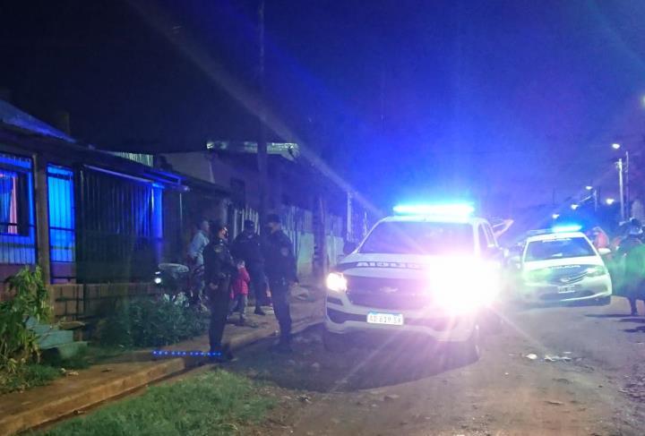 Delincuentes maniataron y quemaron a un hombre en unasalto