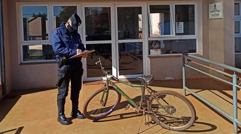 Entregó 1200 pesos por una bicicleta robada en el barrio 180Viviendas