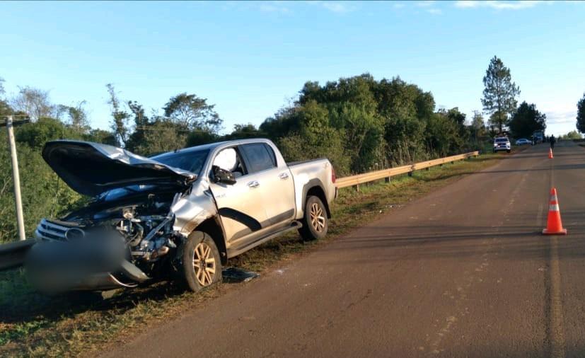 Motociclista falleció tras un choque en la rutacostera