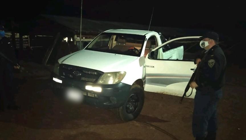 Camioneta robada en Buenos Aires fue hallada abandonada enMisiones