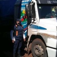 Tras persecución detuvieron a un conductor en la ruta 14 y secuestraron un camión robado