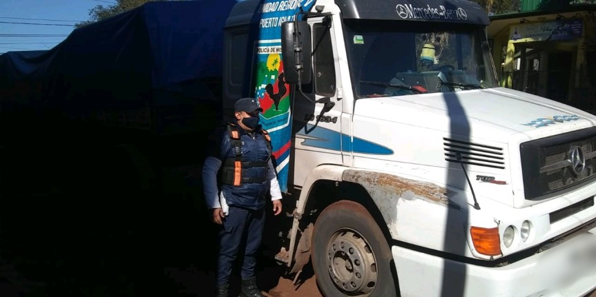 Tras persecución detuvieron a un conductor en la ruta 14 y secuestraron un camiónrobado