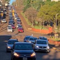 """Extensa caravana en defensa de la libertad: """"Pedimos al Presidente y a su Vice que respeten a todos los Argentinos"""""""