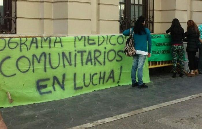 Perini reclama el pago de sueldos para médicoscomunitarios