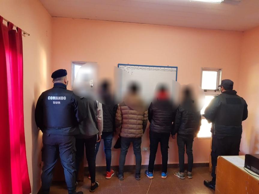 Varios detenidos por una fiesta clandestina en VillaTorneus