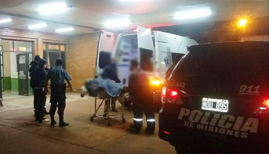 Policías ayudaron a una joven a dar a luz en plena víapublica