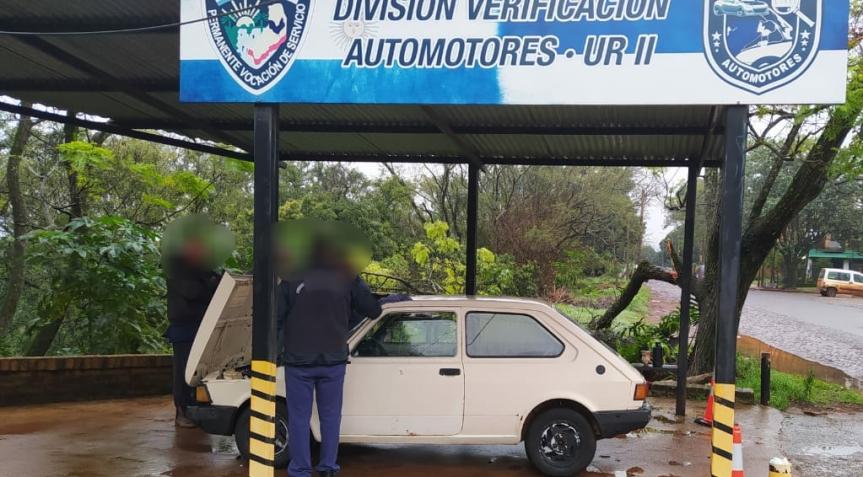 Secuestraron un vehículo con número de motoradulterado