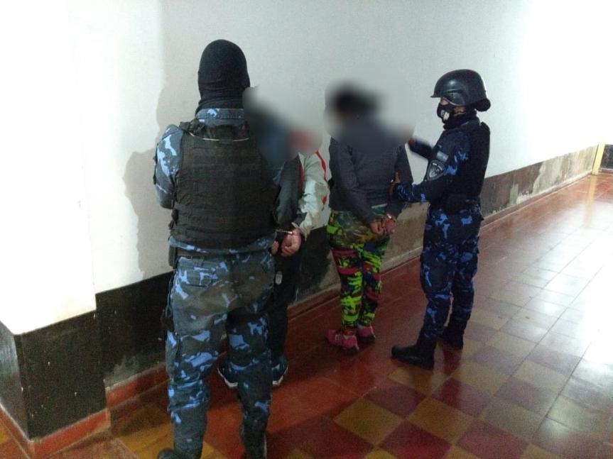 Desbarataron un bunker de marihuana en Villa Sapucay y hay 2detenidos