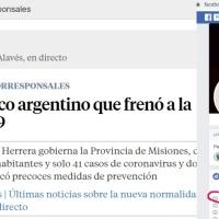 Operación: Nota alabando a Herrera Ahuad en un diario español fue escrita por un funcionario Renovador