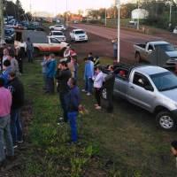 Productores se movilizan contra los robos de yerba, ganado y madera en Montecarlo