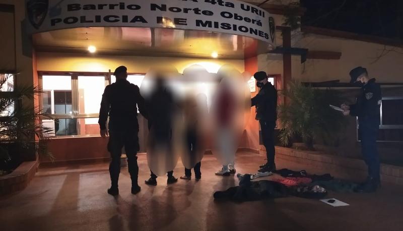 Tres sujetos perpetraron un robo a punta de cuchillo enSapucay