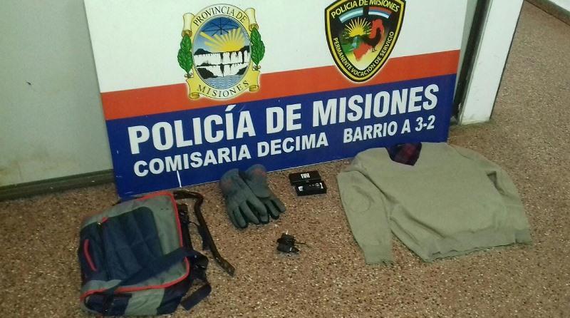 Dos sujetos armados intentaron robar en variosdomicilios