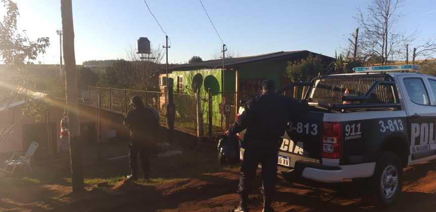 Policías juntaron más donaciones para Rosa y sus cuatrohijos